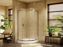 Amalfi Round semi-frameless round sliding door