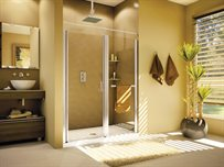 Sevilla In-Line semi-frameless in-line pivot door
