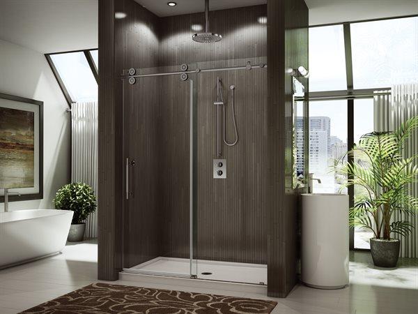 Fleurco Glass Shower Doors Kinetik Kt In Line