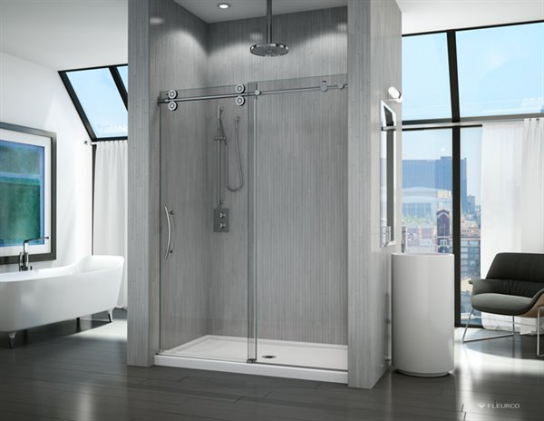 Fleurco Glass Shower Doors Kinetik Kt In Line
