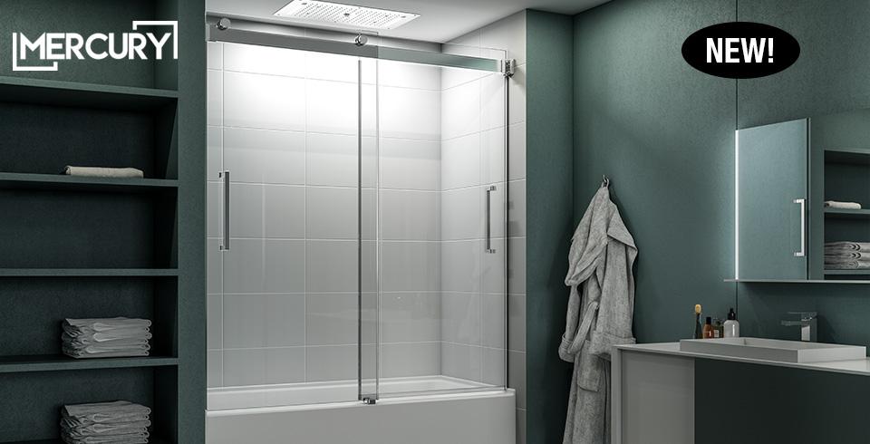 Home Fleurco High End Glass Shower Doors