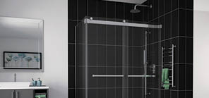 Home Fleurco High End Glass Shower Doors