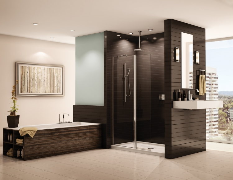 fleurco comment choisir sa porte de douche. Black Bedroom Furniture Sets. Home Design Ideas