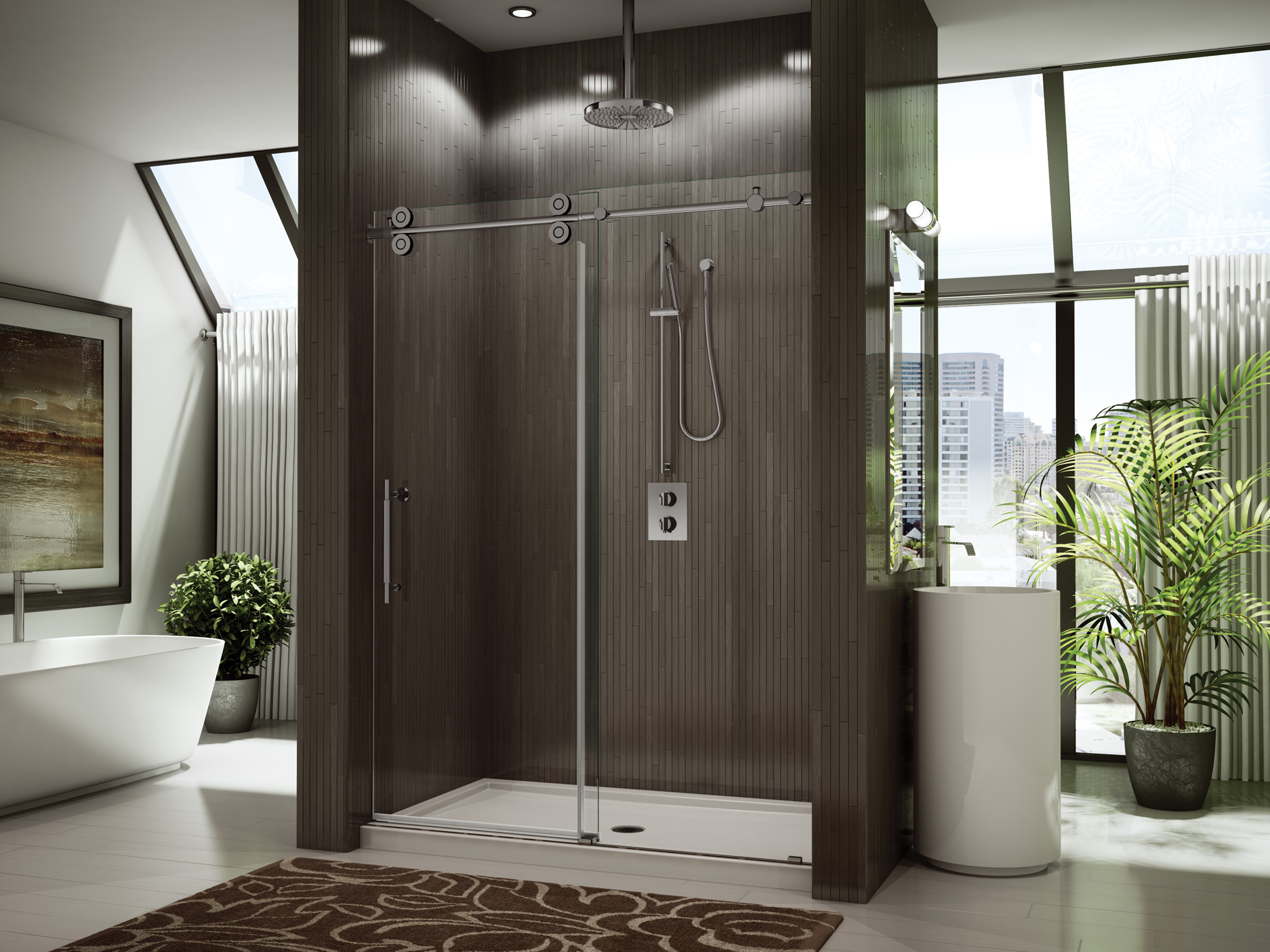 novara in doors peel tile product line sliding apollo unique shower