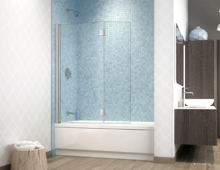 Fleurco | Glass shower doors | Banyo Siena tub shield